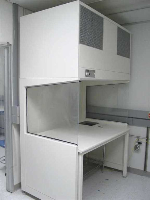 IAS 5 Foot Laminar Flow Hood  Includes Stand Side Panels 115V ~!~