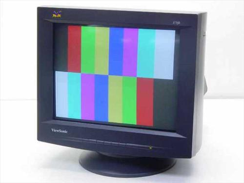 "Viewsonic VCDTS22355-5M  17"" Color Monitor E70fb"