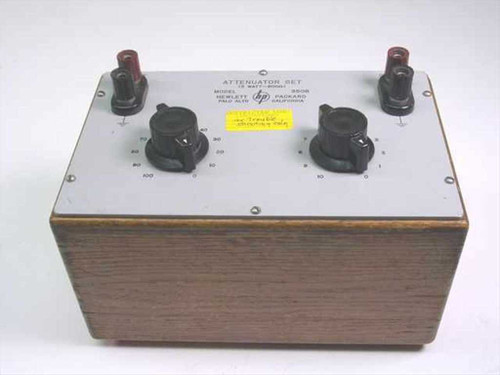 HP 350B  Attenuator Set