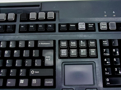 Cherry MX 8100 G80-8113HRBUS-2 POS PS/2 120-Key Board with Touchpad