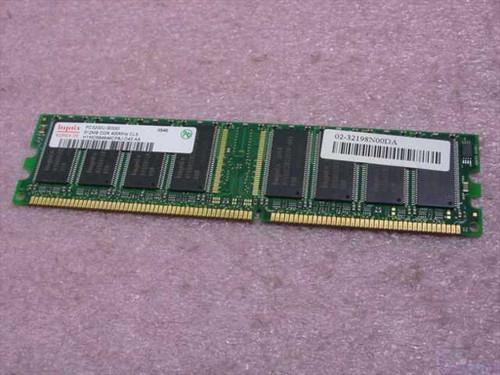 Hynix  HYMD56464CP8J-D43-A  512MB 400MHz DDR PC3200 DIMM CL3.0