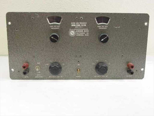Krohn-Hite 330-A  Ultra-Low Frequency Band-Pass Filter