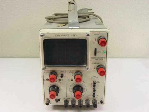 Telequipment S54  Oscilloscope 10 MHz - Vintage