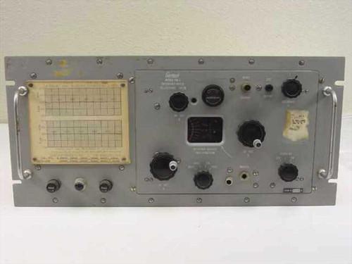 Gertsch FM-3  Frequency Meter 20-1000-MC .001 Rack Mount