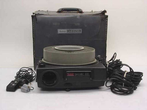 Kodak Carousel 800  Carousel Slide Projector with Accessories but no L