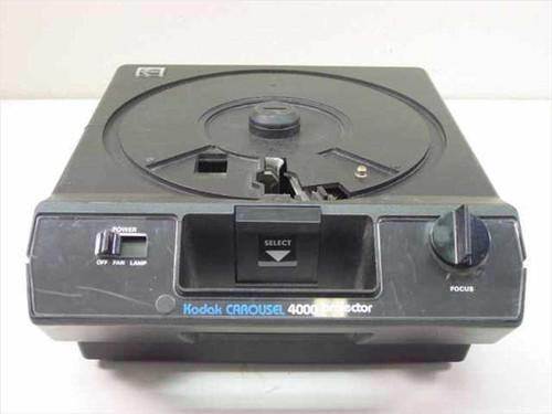 Kodak Carousel 4000  Slide Projector Body wo/ lens or Lamp - As Is for