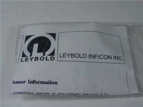 LEYBOLD INFICON INC. 074-181/081092  Cold Cathode Sensor