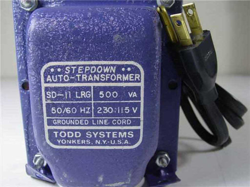 Todd Systems SD-11 LRG  Stepdown Auto Transformer