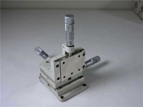 Line tool Co. X-Y-Z  Micro Positioner Model A Right Hand