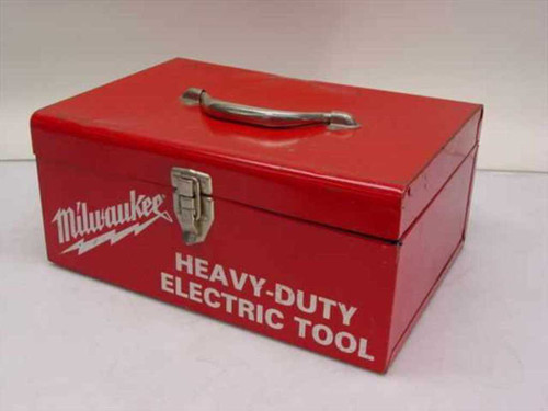 Milwaukee Red  Heavy-Duty Electric Tool Box