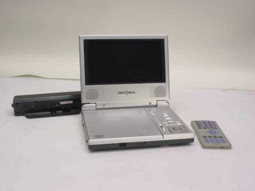 "Insignia IS-PD040922  7"" LCD Monitor & DVD Player With Remote"
