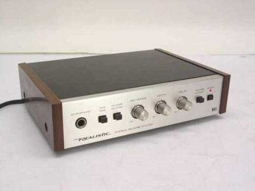 Realistic 42-2108  Stereo Reverb System