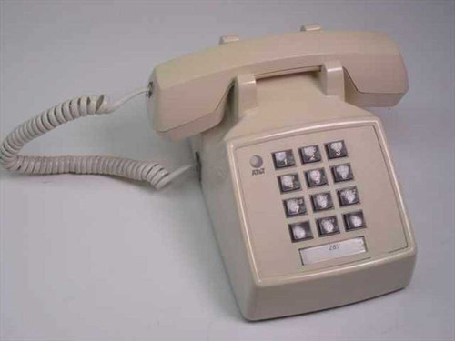 AT&T 95279M  Single Line Telephone - Beige 2500 MMGL