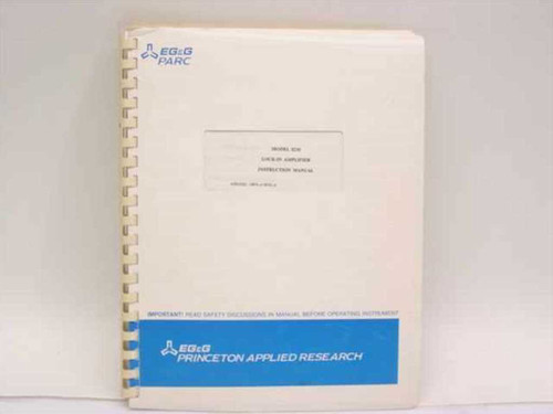 Princeton Applied Research 4200-0325  Model 5210 Lock-In Amplifier Instruction Manual