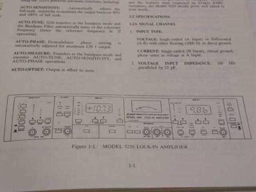 Princeton Applied Research 4200-0325 Model 5210 Lock-In