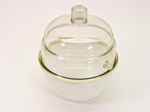 "Generic Acrylic  Desiccator Dry Bowl 7"" x 7"" x 8"" tall"