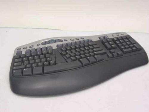 Microsoft 59123-545-0383034-00237  Wireless Natural Multimedia Keyboard