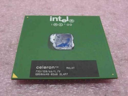 Intel SL4P7  Celeron 733MHz/128/66/1.7V