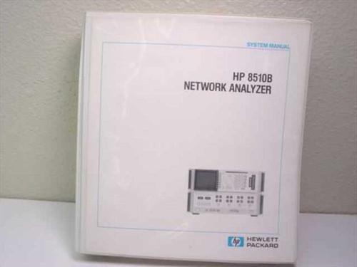 HP 8510B Network Analyzer  System Manual