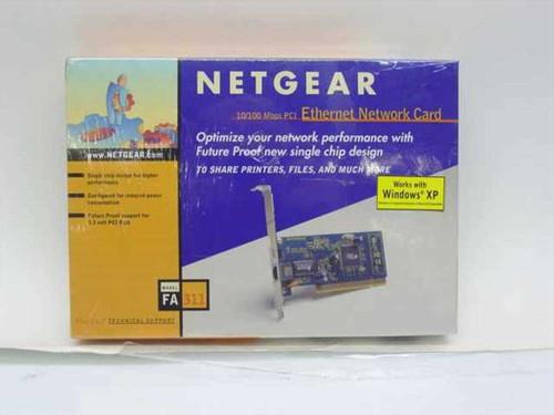 Netgear FA311  10/100 PCI Ethernet Card