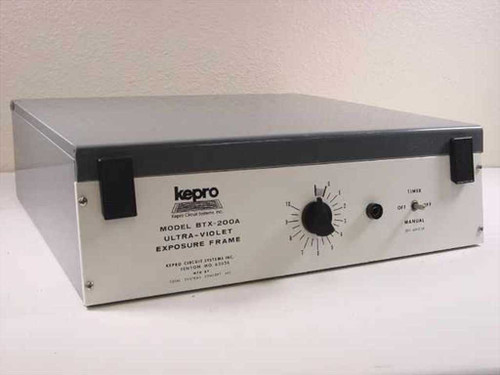 Kepro BTX-200A  Ultra Violet Exposure Frame - As Is