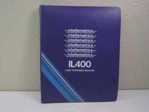 Intellemetrics IL400  Thickness Monitor Instruction Manual