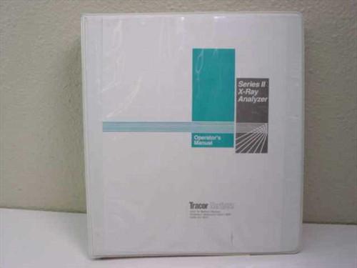 Flex Operator's Manual  Series II X-Ray Analyzer