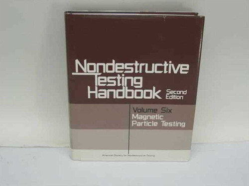 McIntire, Paul, ed.  Nondestructive Testing Handbook Vol. 6  American Society for Nondestructive Testing 1989