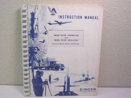 Singer Instrumentation 110-951415B  Instruction Manual for Model 9514B/9515B