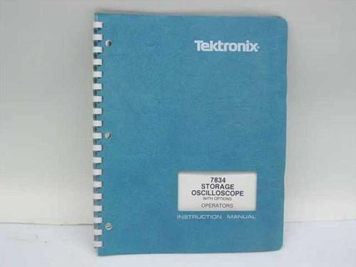 Tektronix 070-1987-00  7834 Storage Oscilloscope Instruction Manual