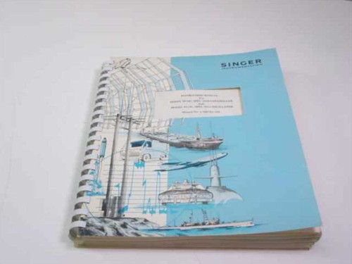 Singer Instrumentation 1-500783-320  Instruction Manual for Model 9514C, Spec 2010 Cont
