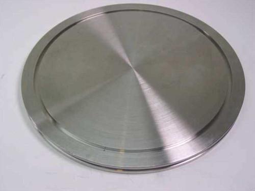 MDC Flange Cap  9.5 Inch OD 8 Inch ID High Vacuum End Cap