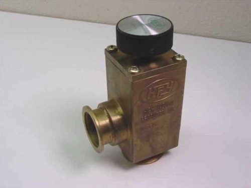 Key High Vacuum Products BA-162  Vacuum Valve Manual 1 5/8 Inch ID Brass