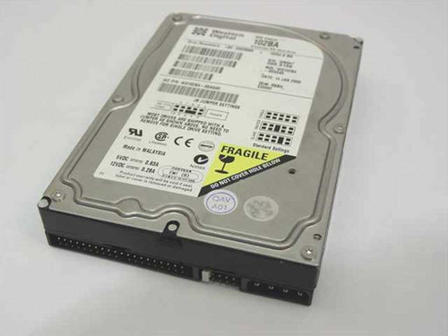 "Western Digital 10.2GB 3.5"" IDE Hard Drive  WD102BA"