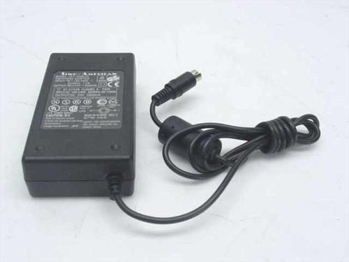 Sino-American SA60-24  AC Adapter 24VDC 2000mA