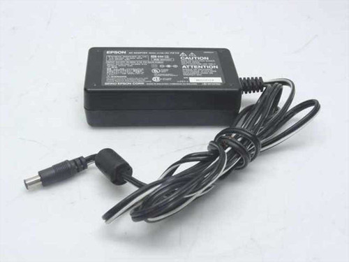 Epson A110B  AC Adapter 24 VDC 0.8 A Perfection 1650 Barrel Plu