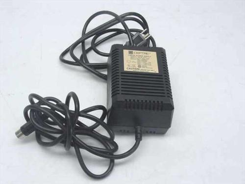 Sceptre ML-6022-1A  AC Adapter &5 Volts 1.0A -12 Volts 0.2A &12 Volts