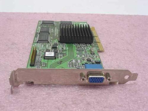 ATI 109-63100-10  Rage 128 Pro Video Card 16MB - AGP Dell 041MJU