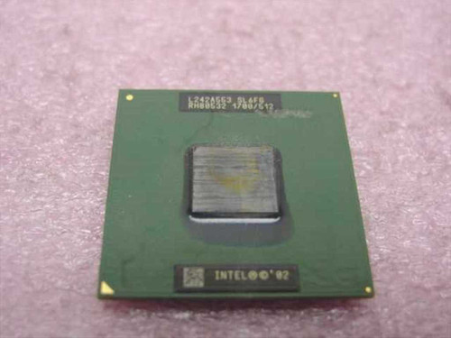 Intel SL6FG  1.7 Ghz Mobile Processor Chip CPU - Laptop