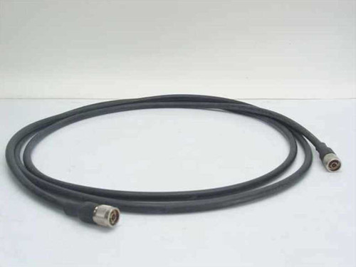 Intercomp Kings RG 214/U  12' Cable w/ UG-21E/U N Straight Plug Clamp