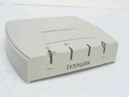Lexmark 4034-12  MarkNet X2000 Series Print Server - 10/100
