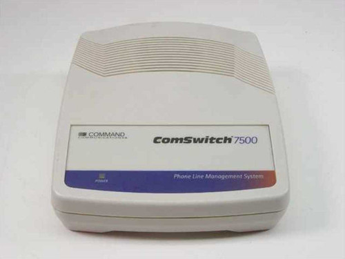 Command Communications ComSwitch 7500  Phone Line Management System