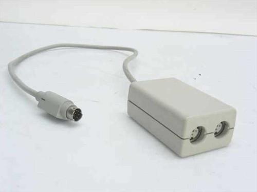 Apple 590-0565-A  8-Pin to Dual 3-Pin Mini Din Localtalk Adapter