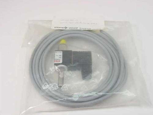 Pfeiffer Vacuum UP 024 020 -T  TSF012 Vent Valve w/ TH-3M Cable