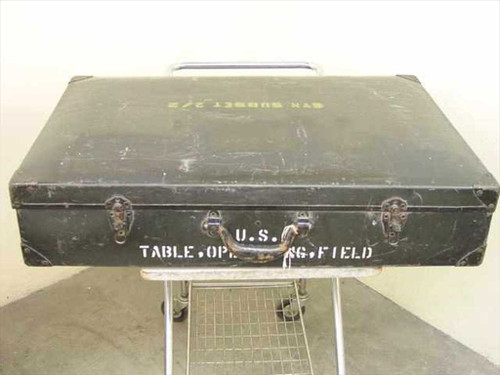 Orthopedic Equipment Company 6530-709-8155  Military Portable Field Operating Table