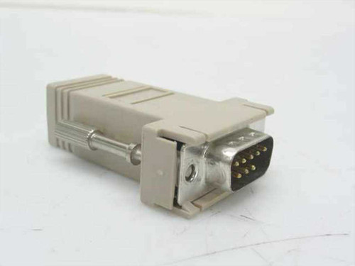 Generic N/L  9 Pin Serial to 8 pin RJ45 Adapter