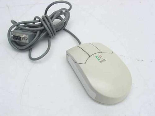 Logitech M-MC13-DB9F  3 Button Serial Mouse MouseMan