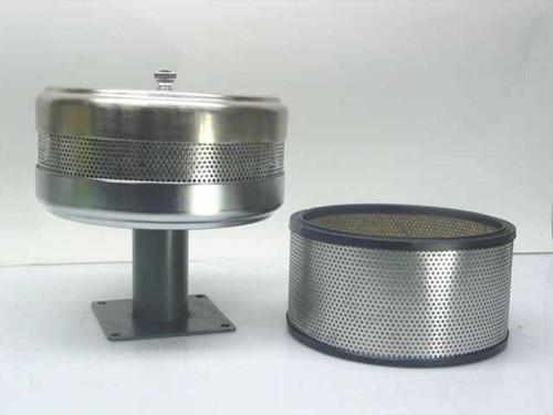 Mass-Vac Inc. Vacuum   Pump Filter w/ Stand