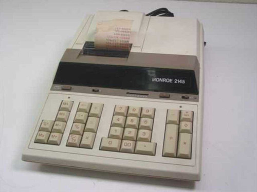 Monroe 2145  Printing Calculator 115v