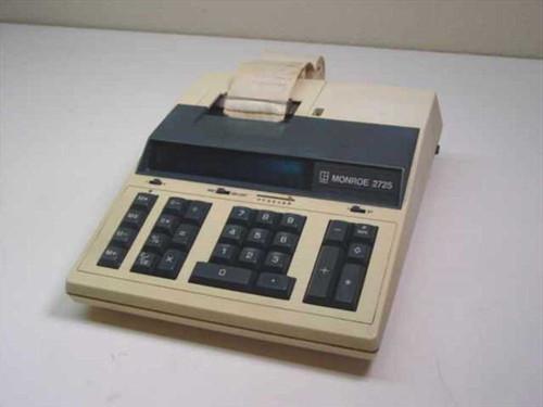 Monroe 2725  Printing Calculator 115v
